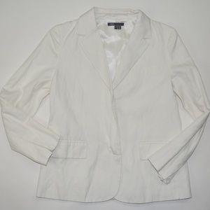 Vince Classic White Blazer Jacket